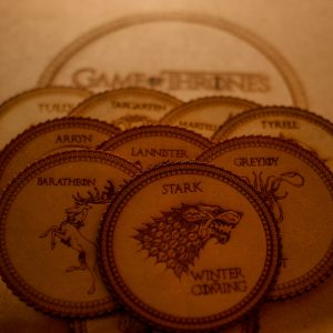 Caja completa Game of thrones coasters