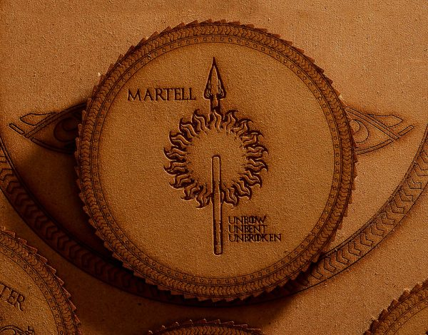 Game of Thrones Coasters - Martell