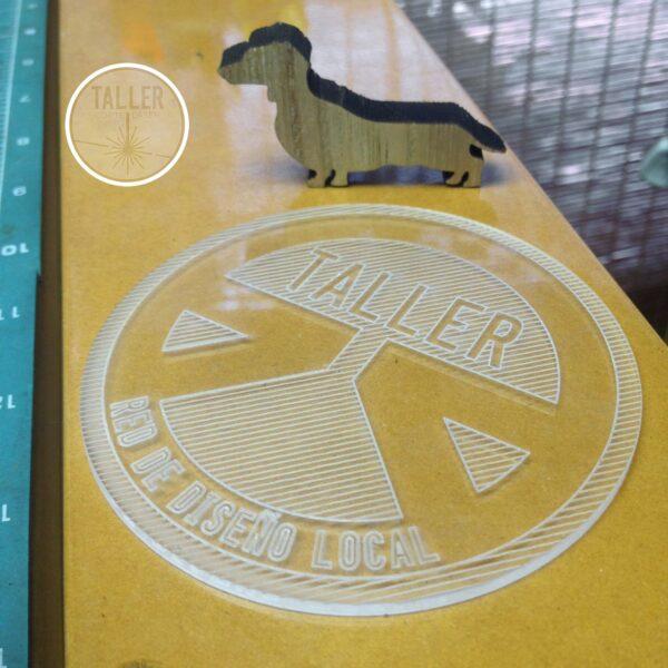 Posavasos Acrílico transparente 3mm - Diseños de Posavasos Acrílico