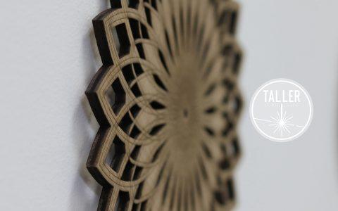 Mandalas - Diversos diseños en madera