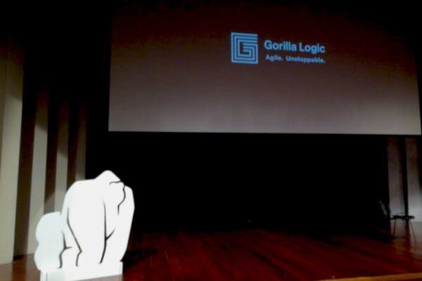 Gorila acrílico blanco - Diseños en Acrílico