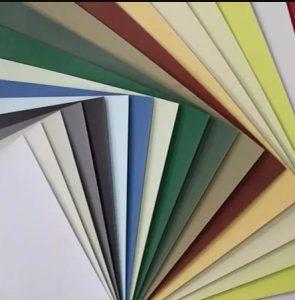 Cartón de Presentación Bainbridge de 2mm en el color de su elección.
