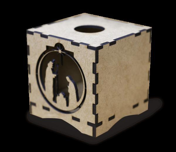 Nacimiento MDF - Diseños en cajas MDF